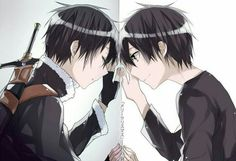 "Photo from album ""SAO Wallpaper"" on Yandex. Kirito Sword, Sword Art Online Kirito, Kirito Kirigaya, Kirito Asuna, Sao Anime, Manga Anime, Online Anime, Online Art, Tous Les Anime"