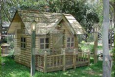 casa de muñecas con altillo