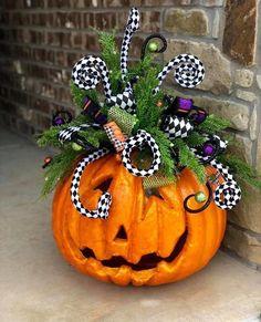 Halloween Home Decor, Halloween Projects, Diy Halloween Decorations, Holidays Halloween, Fall Decorations, Halloween Jack, Easy Halloween, Halloween Pumpkins, Halloween Wreaths