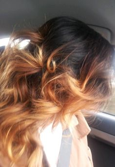 Ombre hair, ombre, hairstyle