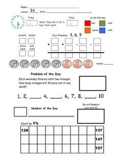 13+ Saxon math grade 1 worksheets pdf For Free