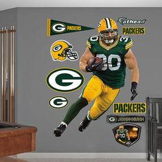 Fathead Green Bay Packers Tamron Williams Graphic   Wall Sticker Outlet |  Football Season 2015 | Pinterest | Bays, Stickers And Decor Part 91