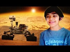 Child Prodigy Explains Mars Discovery (Space, PBL)