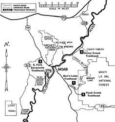 Moab Horseback Riding Trails