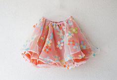 Four-Ply Flower Power Skirt
