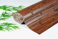 One- x Bamboo Wall Paneling Dark Chocolate Color Wainscoting Wainscot Panel Tiki Bar Bamboo Panels, Bamboo Wall, Bamboo Rug, Bamboo Fence, Lucky Bamboo Plants, Square Columns, Wainscoting Panels, Carpet Cover, Carpet Runner