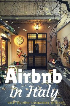 Tips for AirBnb Ital