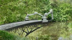 MX3D projet de construction de pont en impression 3D