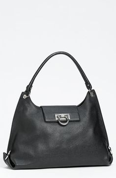 Salvatore Ferragamo  Fanisa  Leather Hobo available at  Nordstrom Purses  And Handbags a2156ca06acd1
