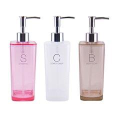 kobe-lion | Rakuten Global Market: Simple dispenser Myrna shampoo, conditioner and SOAP bottles