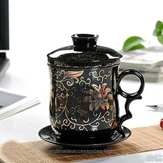 XIDUOBAO Special Plum Blossom Chinese Style Porcelain Handmade Kung Fu Tea Cup,Ceramic Tea Cup With Loose Leaf Tea Brewing System – Beautifully Designed Tall Tea Infuser Cup With Saucer & Lid  Check It Out Now     $19.99     The benefit of drinking Chinese kungfu tea    Often drinking tea can help fresh you from daily fatigue, and enhance  ..  http://www.handmadeaccessories.top/2017/03/14/xiduobao-special-plum-blossom-chinese-style-porcelain-handmade-kung-fu-tea-cupceramic-tea-c..