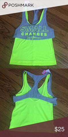 One size sport blouse NWT One size new with tags 100% from No Trades No Trades Tops Blouses