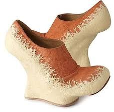 really weird shoes -