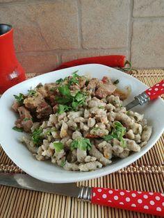 Pulykaragu zöldfűszeres PaleoLét nokedlivelHozzávalók: 2-3 főreelkészítési idő:55 perc