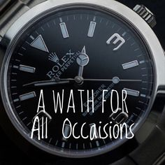 A look at wristwatches as a symbol of status.