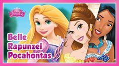 Disney Princess: Rapunzel,  Belle and Pocahontas Story - for KIDS