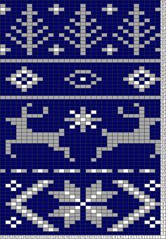 Tricksy Knitter Charts: Fair Isle Scarf Pattern for Noel by herreroe Fair Isle Knitting Patterns, Fair Isle Pattern, Knitting Charts, Loom Patterns, Knitting Designs, Knitting Stitches, Knitting Projects, Stitch Patterns, Sock Knitting