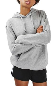Topshop Oversize Hoodie available at #Nordstrom