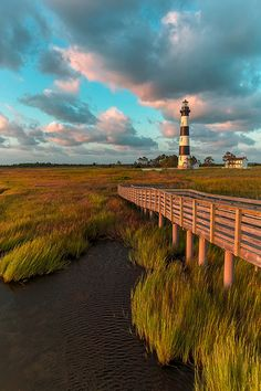Bodie Island Lighthouse :: Outer Banks of North Carolina