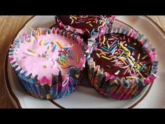 CUP CAKE DE FRESA SIN HORNO/LAS RECETAS DE LUPITA - YouTube