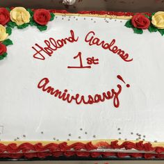 We took the opportunity of the terrific summer-like weather and our first annual Fall Fair, to celebrate our 1 year Anniversary at Holland Gardens Retirement Residence in Bradford 😀🎂 #vervecares #community #anniversary #celebration Holland Garden, Wellness Activities, 1 Year Anniversary, Take The Opportunity, Emergency Response, Assisted Living, Senior Living, Bradford, Retirement