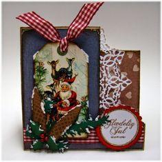 Scraps: Jule-foldekort