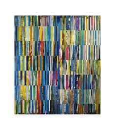 """DNA Landscape, 48"""" x 42"""", 2012."""