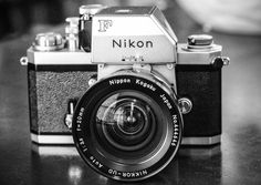 My Nikon f with 20mm 3.5 Non-ai lens.