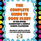 The Complete Guide to Book Clubs in the Upper Elementary & Middle School Classroom is a 38 page common core aligned resource designed to lead your students successfully through book clubs from start to finish. Get your students choosing books, reading daily, thinking and responding to text, citing evidence, constructing meaning with peers, and loving reading time each day! $