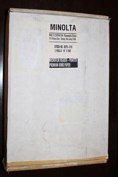 Minolta Microfilm Reader Printer Premium Bond Paper Product/Part Number Bond Paper, Printer, Office Supplies, Cards Against Humanity, Number, Ink, Store, Ebay