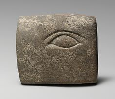 Stone votive relief of an eye, Cypriot, 4th or 3rd century BCE
