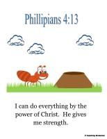 Another cute verse for this week if you have not used this one already. @Angela Sirota