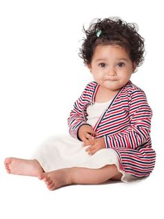 American Apparel Infant Stripe Cardigan $15.50 #topseller