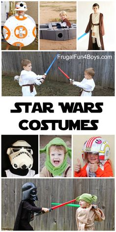 The Best Star Wars Costumes to Make for Kids - Perfect for pretend play!