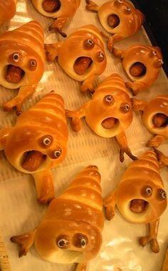 Bange broodjes! =D