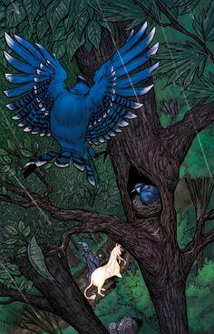 Last Unicorn - the blue jays  :)