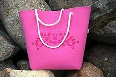 BeachBag różowa Tote Bag, Bags, Handbags, Totes, Bag, Tote Bags, Hand Bags