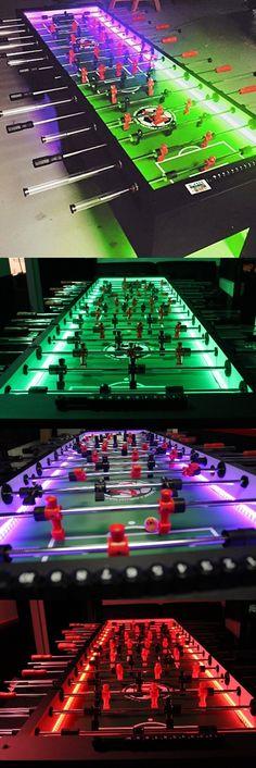 8 Man Foosball Table W/LEDs