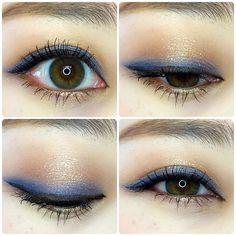 Best Eyeshadow, Eyeshadow Looks, Makeup Art, Beauty Makeup, Hair Beauty, Pretty Makeup, Makeup Looks, Eyeliner Tape, Asian Makeup