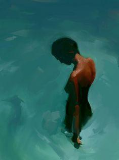 Paint summer art inspiration for oils Figure Painting, Painting & Drawing, Art And Illustration, Illustrations, Figurative Kunst, Kunst Online, Love Art, Painting Inspiration, Amazing Art