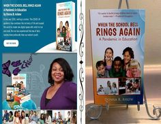 "🎁 Gift a Teacher the book ""When The School Bell Rings Again"" for providing helpful tips to build a strong educational foundation for all children."