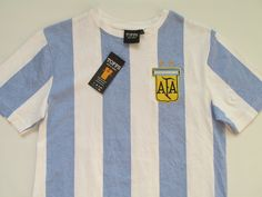 44031e278 Argentina World Cup 1978 retro replica football shirt by Toffs WorldCup AFA  jersey camiseta soccer CFS