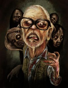 George Romero, The master of all things undead.