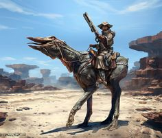 Sand rider, Jakub Javora on ArtStation at https://www.artstation.com/artwork/sand-rider-b39ce022-c8b6-4bfb-b477-2c70d1c0049f