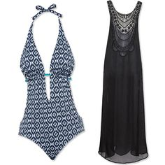 The Best Swim and Cover-Up Pairings For Your Body Shape - If you're bigger on bottom. Simple Outfits, Cute Outfits, Pool Party Outfits, Pool Wear, Best Swimsuits, Swimsuit Cover Ups, Dress Me Up, Body Shapes, What To Wear