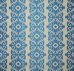 Pindler Exclusive Fabric Pattern #4570-Renwick, color Cobalt  www.pindler.com