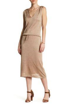 80c20f4520d Semi-Sheer Knit Dress by Ella Moss on  nordstrom rack Nordstrom Rack