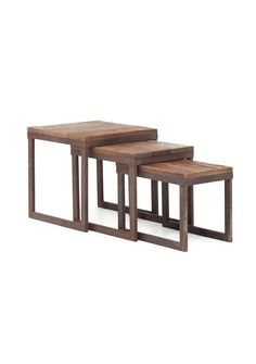 nesting tables - I can make this! (*my husband* can make this....)