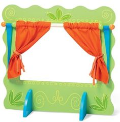 The Wooden Theatre Stage by Manhattan toy is a fantastic 3 year old toy. This puppet stage really sparks imagination through pretend play. It makes a great 3 year old gift.