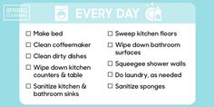 How Often You Should Clean Everythinggoodhousemag